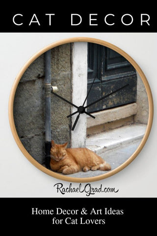 Cat Decor: New Home Decor and Accessories for Cat Lovers by Artist Rachael Grad
