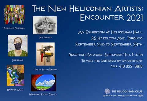 Invitation for Encounter 2021 at The Heliconian Club in Yorkville Toronto