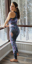 Load image into Gallery viewer, Black Leggings on Jess by Toronto Artist Rachael Grad back view