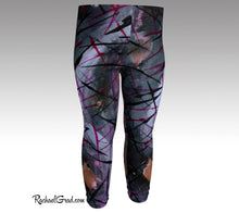 Load image into Gallery viewer, Baby Leggings | Black Abstract Art Clothes by Artist Rachael Grad