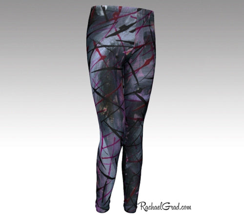 Alex Youth Leggings-Youth Leggings-Canadian Artist Rachael Grad