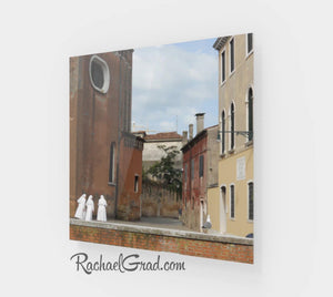 Christian Nuns Italian Photography Gifts, Group of Nuns Holiday Gift Art, Fine Art 3 Nuns Venice Italy Art Print, Catholic Sisters Wall Art by Artist Rachael Grad