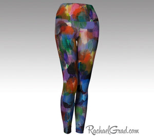 Workout Wear for Women Leggings Art Legging Woman Ladies Pants by Artist Rachael Grad
