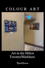 Load image into Gallery viewer, Colour Art as seen in the Hilton Toronto Markham Suites by Toronto Artist Rachael Grad
