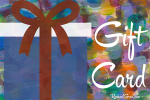 Gift Card for Toronto Artist Rachael Grad new in March 2020