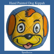 Load image into Gallery viewer, Hand Painted Dog Kippah-Canadian Artist Rachael Grad