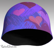 Load image into Gallery viewer, Valentines Hearts Beanie Hat Gift for Valentine's Day by Rachael Grad