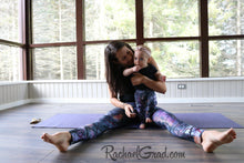 Load image into Gallery viewer, Jess and Baby Rachel in Matching Alex Leggings by Artist Rachael Grad, sitting on floor