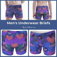 Load image into Gallery viewer, Matching Underwear Set - Hearts for Valentines-Clothing-Canadian Artist Rachael Grad
