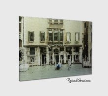 Load image into Gallery viewer, On the Grand Canal Venice Italy Metal Art Print Rachael Grad Artwork