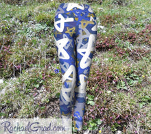 Load image into Gallery viewer, Womens Yoga Leggings - Stars-Yoga Leggings-Canadian Artist Rachael Grad