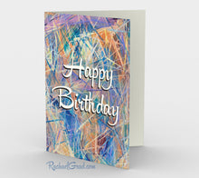Load image into Gallery viewer, Stationery Card Set - Happy Birthday Card by Toronto artist Rachael Grad
