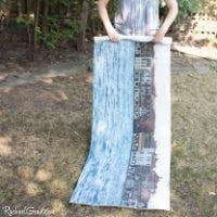 Venice Italy Yoga Mat Rolled up by Artist Rachael Grad
