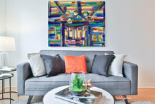 "Load image into Gallery viewer, Abstract Interior 1 Acrylic Art Print 20"" x 16""-Abstract Art Prints-Canadian Artist Rachael Grad"