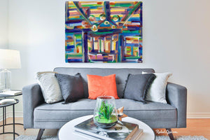 "Abstract Interior 1 Acrylic Art Print 20"" x 16""-Abstract Art Prints-Canadian Artist Rachael Grad"