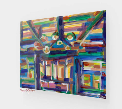 Abstract Interior 1 Acrylic Art Print 20