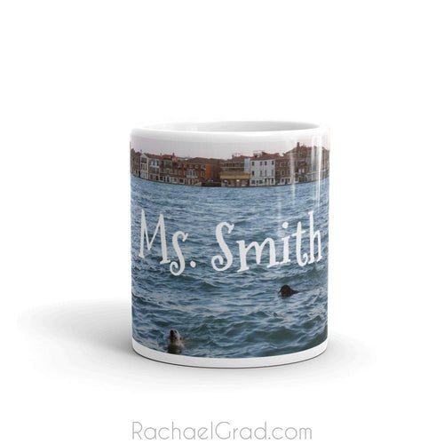 Dogs Swimming in Venice Italy Mug