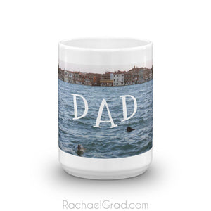 Dogs Swimming Mug for Dad