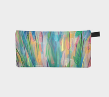 Load image into Gallery viewer, Green Grass Abstract 1 Pencil Case-Pencil Case-Canadian Artist Rachael Grad