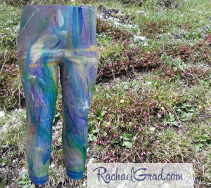 Valentines Gift for Babies, Baby Leggings Shower Gift by Toronto Artist Rachael Grad