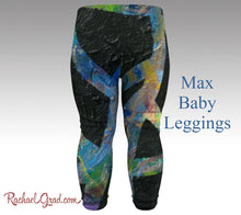 Load image into Gallery viewer, Toddler Boy Clothes | First Birthday Present by Artist Rachael Grad Max Art