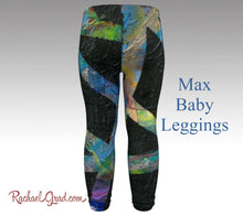 Load image into Gallery viewer, First Birthday Present Max Baby Leggings Rachael Grad Art