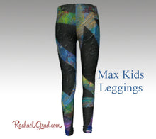 Load image into Gallery viewer, Max Kids Leggings-Clothing-Canadian Artist Rachael Grad