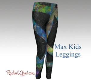 Max Kids Leggings-Clothing-Canadian Artist Rachael Grad