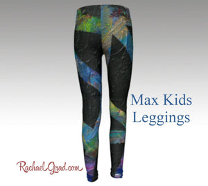 Max Mommy and Me Matching Leggings-Clothing-Canadian Artist Rachael Grad