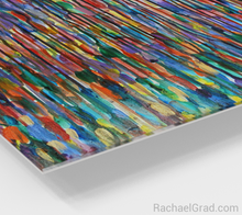 Load image into Gallery viewer, Fluid Long MultiColor Bright 16 x 20-Acrylic Print-rachaelgrad artsy abstract colorful artwork multicolor wall art