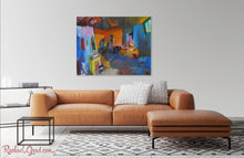 "Load image into Gallery viewer, New York Studio Interior Art Print | Colorful 10"" x 8"" Abstract Artwork 