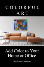 Load image into Gallery viewer, Colorful Art: Add Color to Your Home or Office by Artist Rachael Grad