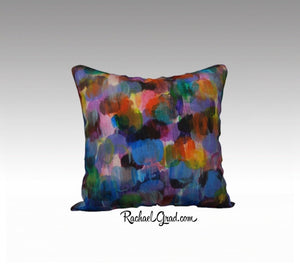"Holiday gift Abstract Art Print Pillowcase 18"" x 18"" Square Pillow Sham 