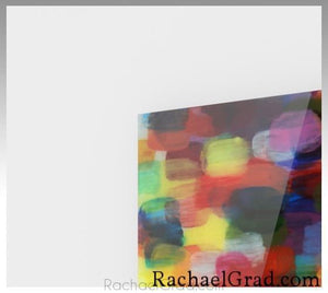 Red Yellow Abstract Art Print-Abstract Art Prints-Canadian Artist Rachael Grad