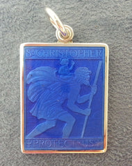 St. Christopher Medal Square - The Prince's Table  - 1