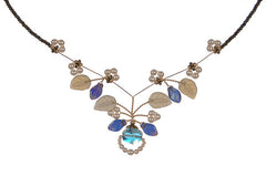 Indian Sapphire Tendril Necklace - The Prince's Table  - 2