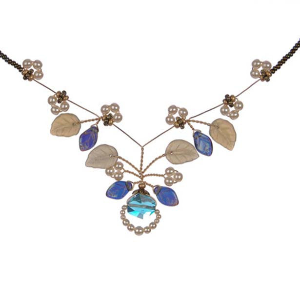 Indian Sapphire Tendril Necklace - The Prince's Table  - 1