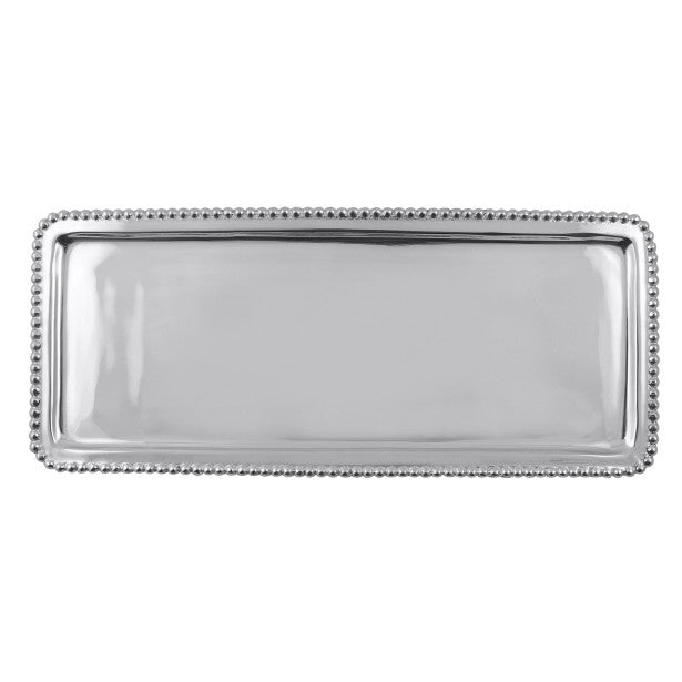 Beaded Rectangular Tray - The Prince's Table