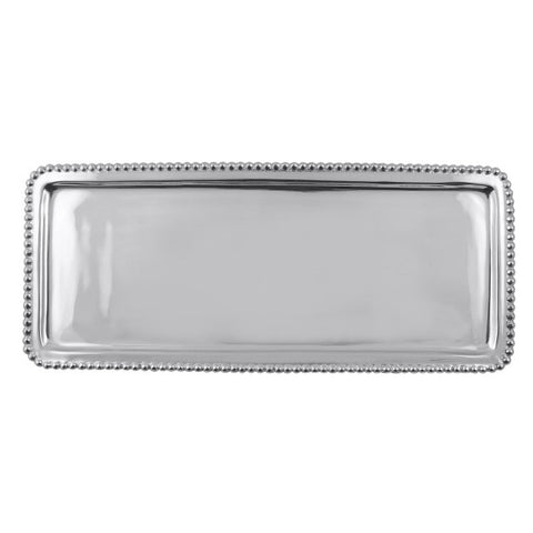 Beaded Rectangular Tray