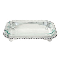 Pearled Oblong Casserole Caddy - The Prince's Table