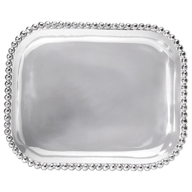 Pearled Rectangular Platter - The Prince's Table  - 1
