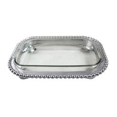 Pearled Small Casserole Caddy - The Prince's Table  - 1