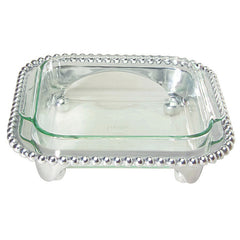 Pearled Squared Casserole Caddy - The Prince's Table