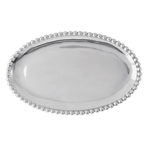 Small Pearled Oval Platter