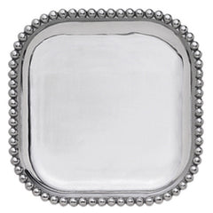 Small Pearled Square Platter - The Prince's Table  - 1
