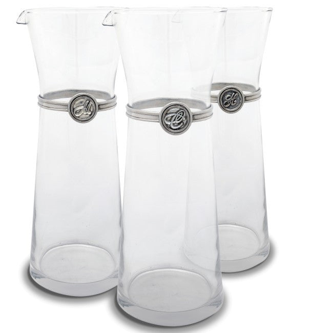 Monogram Large Carafe - The Prince's Table