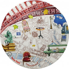 Paris Large Plate - The Prince's Table  - 1