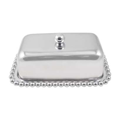 Pearled Butter Dish - The Prince's Table