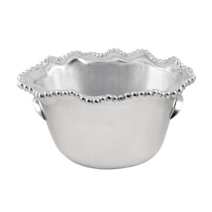 Pearled Wavy Medium Ice Bucket - The Prince's Table  - 1