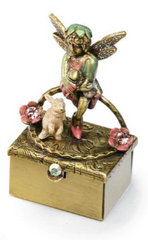 Tooth Fairy Pixie with Bunny - Bronze 🇺🇸